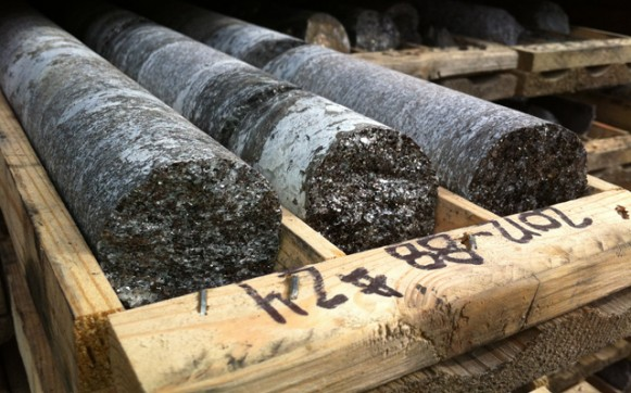 Mason Graphite's consistent and long intercepts of very high grade large flake graphite make Mason Graphite superior to Zenyatta Ventures' Albany deposit.
