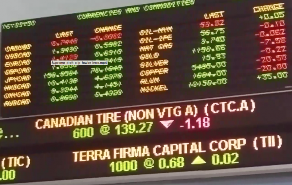 S&P/TSX Venture Composite Index (INDEXTSI:OSPTX) lost 1 percent on Wednesday as profit taking on NexOptic Technology Corp (CVE:NXO) and a race to the exits in Saint Jean Carbon Inc (CVE:SJL) brought the index down after a fairly promising start.